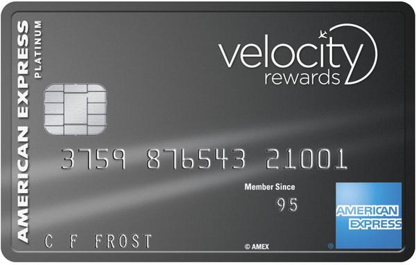 American Express Virgin Velocity Platinum – 100k Velocity Points, $375 annual fee